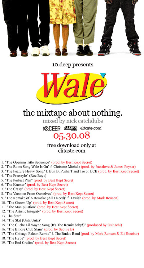 Wale About Nothing Mixtape