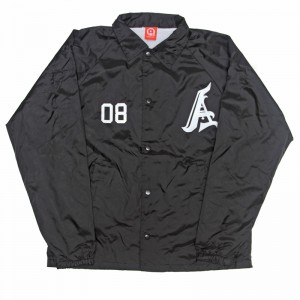 AnmlHse Coaches Jacket Black