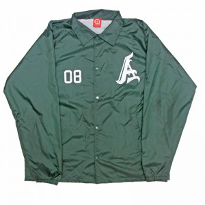 AnmlHse Coaches Jacket Hunter Green