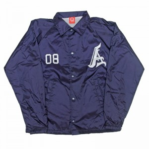 AnmlHse Coaches Jacket Navy
