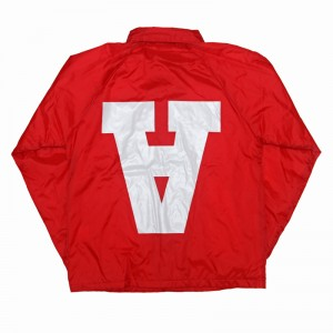 AnmlHse Coaches Jacket Red