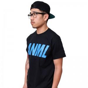 AnmlHse ANML Logo Tee Neon Blue