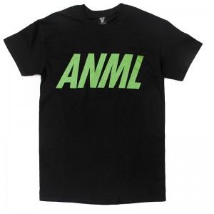 AnmlHse ANML Logo Tee Neon Green
