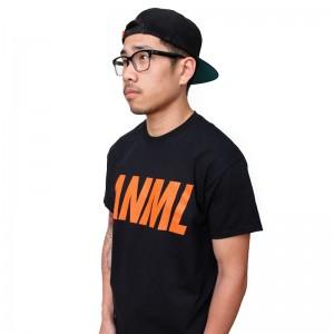 AnmlHse ANML Logo Tee Neon Orange