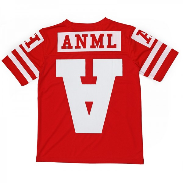 AnmlHse Varsity A Pro Mesh Scrimmage Jersey Red