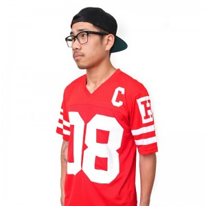 Varsity Scrimmage Pro-Mesh Jersey (Red)
