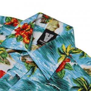 AnmlHse So Wavy Hawaiian Button Up Short Sleeve Shirt