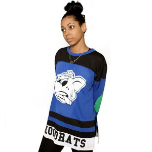 Local Hoodrats Hockey Jersey (Blue)