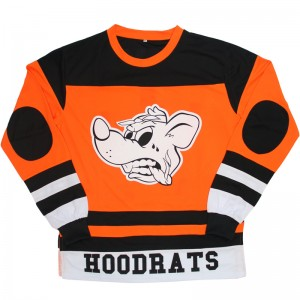 Local Hoodrats Hockey Jersey (Orange)