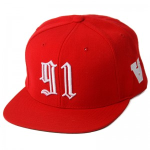 Youth in Revolt Snapback 91 (Red)