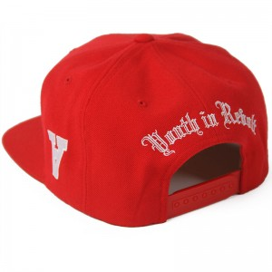 Youth in Revolt Snapback 90 (Red)