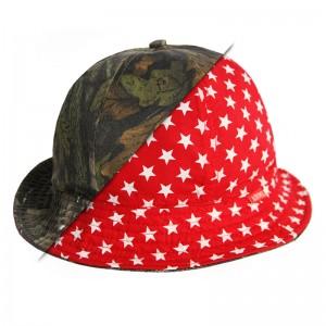 Reversible Bucket Hat (Camo / Stars)