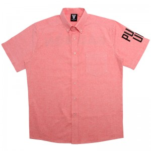 Badmon Pull Up Button Up Pink Shirt DBZ Dragonball Z