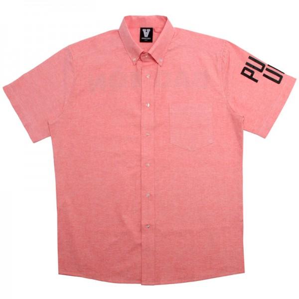 Badmon Pull Up Button Up Pink Shirt DBZ Dragonball Z
