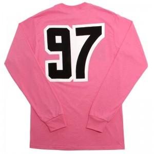 Bulma 97 Pink Long Sleeve Tee AnmlHse DBZ Dragonball Z