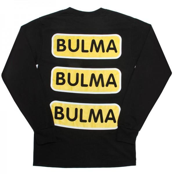 Bulma Capsule Corp Black Long Sleeve Tee AnmlHse DBZ Dragonball Z