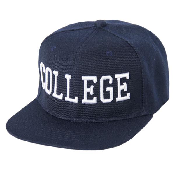 College Snapback Navy