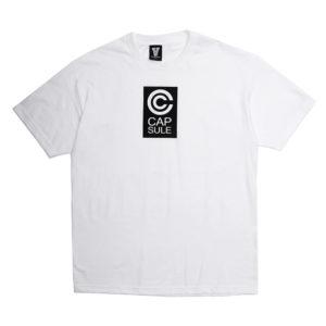 Capsule Corp Block Logo Tee