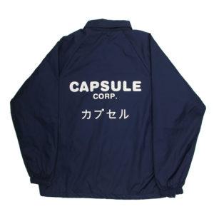 Capsule Corp Intl Coach Jacket カプセル