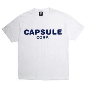 Capsule Corp Uniform Shirt (White)