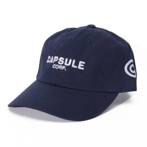 Capsule Corp Uniform Cap (Navy)