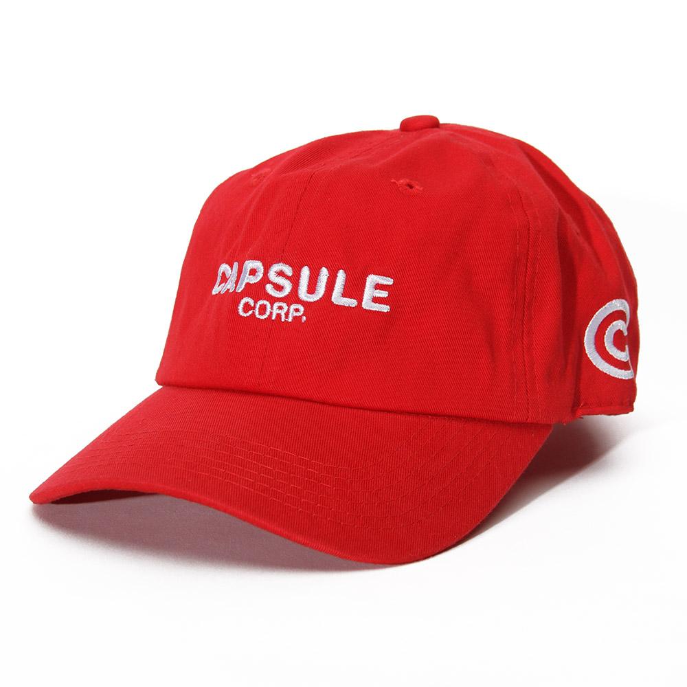 Capsule Corp Uniform Cap (Red) e8580628904