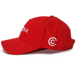 Capsule Corp Uniform Cap (Red)